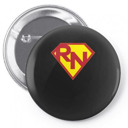 Super Nurse Rn T Shirt Pin-back Button Designed By Hung