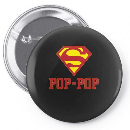 Super Pop Pop T Shirt Pin-back Button Designed By Hung