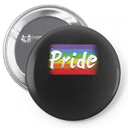 Rainbow Pride Gay Equal Rights T Shirt Pin-back Button Designed By Hung
