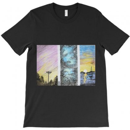 Life Is Colorful T-shirt Designed By Fahedyasin