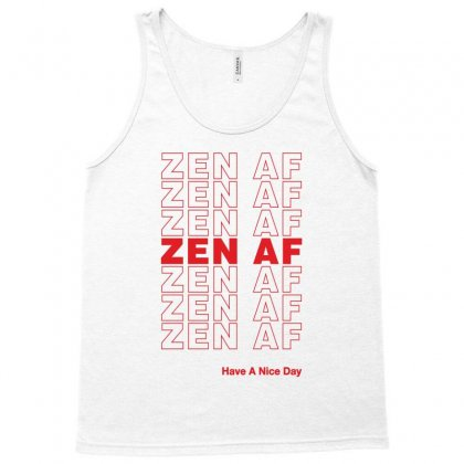 Zen Af Tank Top Designed By Artees Artwork