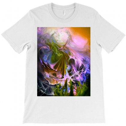 Flow Of Spin And Tides T-shirt Designed By Jonybravo2000