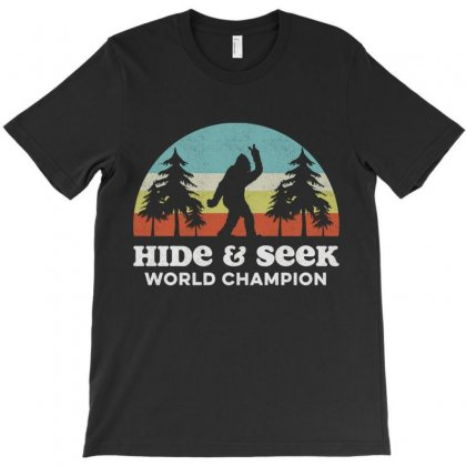 Hide And Seek World Champion T-shirt Designed By Vanitty