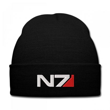 Mass Effect N7 Logo Embroidered Hat Knit Cap