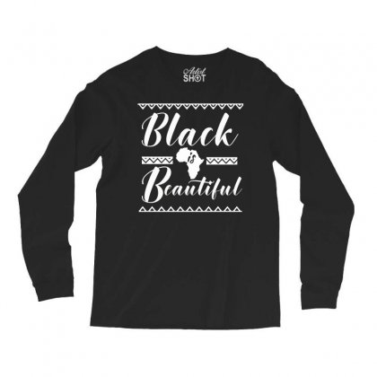 Africa Melanin Poppin Black Queen Long Sleeve Shirts Designed By Cogentprint