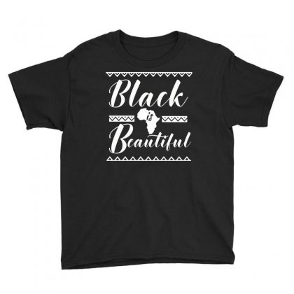 Africa Melanin Poppin Black Queen Youth Tee Designed By Cogentprint