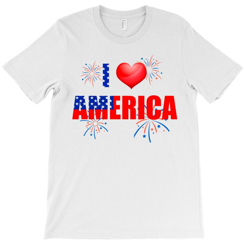 I Love America Independent T-shirt | Artistshot