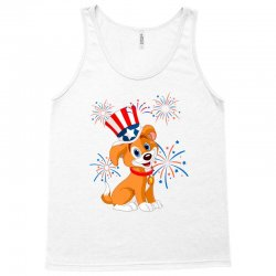 4th Of July Memorial Day Tank Top Designed By Cogentprint