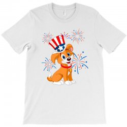 4th Of July Memorial Day T-shirt Designed By Cogentprint