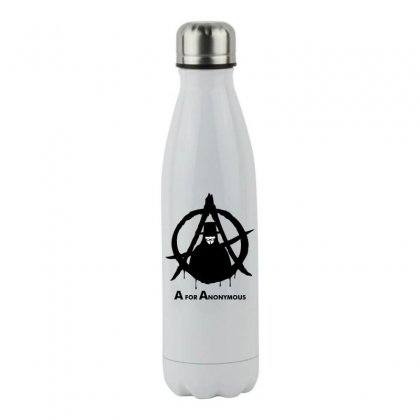 A For Anonymous Stainless Steel Water Bottle Designed By Specstore