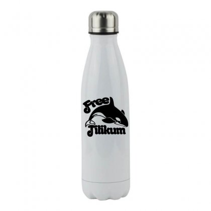 Free Tilikum Stainless Steel Water Bottle Designed By Specstore