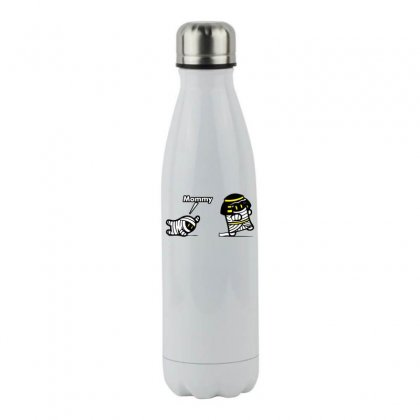 Mommy Mummy Stainless Steel Water Bottle Designed By Specstore