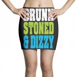 drunk stoned and dizzy Mini Skirts | Artistshot