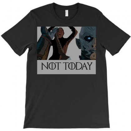 Not Today T-shirt Designed By Tabby