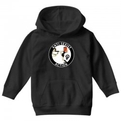 anti sexist action Youth Hoodie | Artistshot