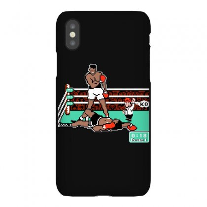 Ali Greatest Punches Out Boxing Iphonex Case Designed By Bamboholo