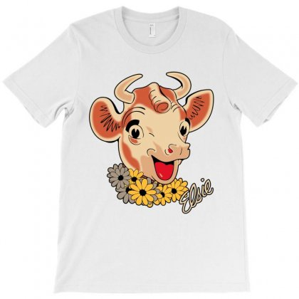 Elsie The Cow T-shirt Designed By Bamboholo