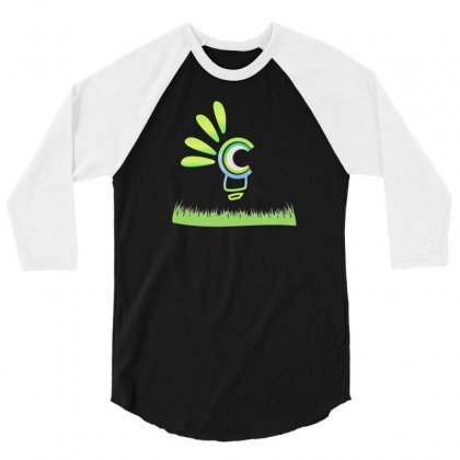 Green Day 3/4 Sleeve Shirt Designed By Medjed