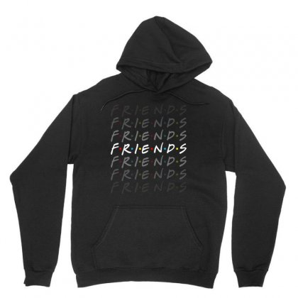 Friends Tv Show For Dark Unisex Hoodie Designed By Sengul