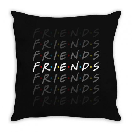 Friends Tv Show For Dark Throw Pillow Designed By Sengul