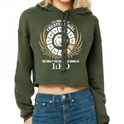 Leo Women Cropped Hoodie Designed By Tshiart