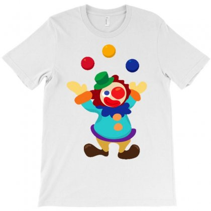 Clown T-shirt Designed By Anrora