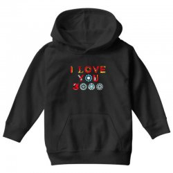 i love you 3000 Youth Hoodie | Artistshot