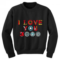 i love you 3000 Youth Sweatshirt | Artistshot