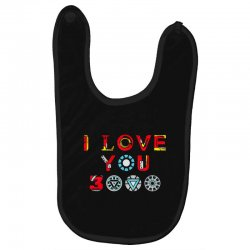 i love you 3000 Baby Bibs | Artistshot