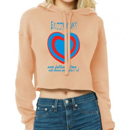 Buzzcocks   Ever Fallen In Love Cropped Hoodie Designed By Tonyhaddearts