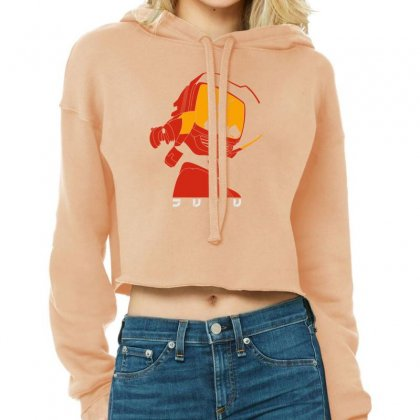 Flcl Cropped Hoodie Designed By Munil