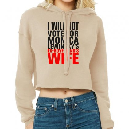 Ex-boyfriend Wife Cropped Hoodie Designed By Munil
