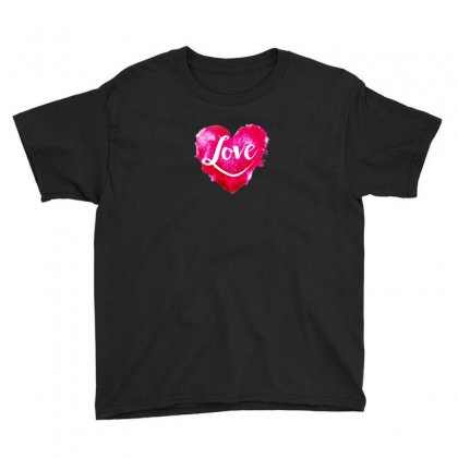 Heart Youth Tee Designed By Ham4