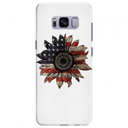 American Sunflower Samsung Galaxy S8 Plus Case Designed By Sengul