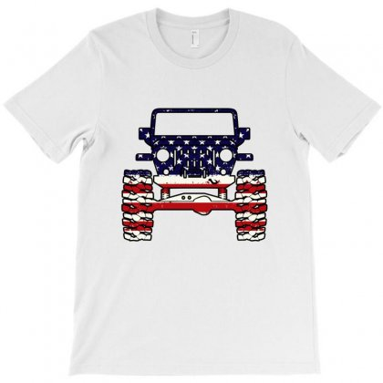 American Jeep T-shirt Designed By Nurbetulk