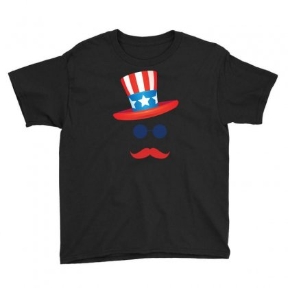 American Hat 4th Of July T Shirt   Independence Day 2016 Tee Youth Tee Designed By Hung