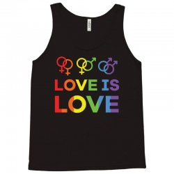 love is love shirt   love rainbow gay lesbian lgbt pride t shirt Tank Top | Artistshot