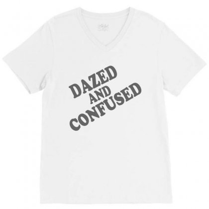 Dazed And Confused V-neck Tee Designed By Suryanaagus068