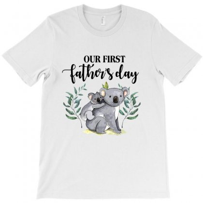 Our First Father's Day Koala For Light T-shirt Designed By Sengul