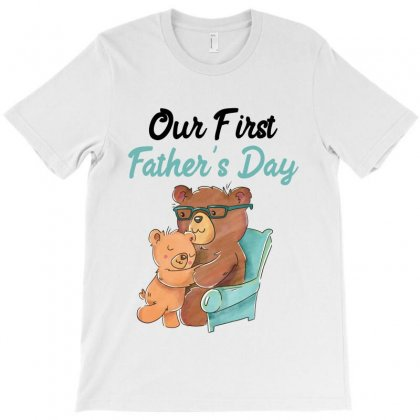 Our First Father's Day For Light T-shirt Designed By Sengul