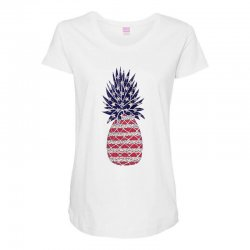 american pineapple Maternity Scoop Neck T-shirt | Artistshot