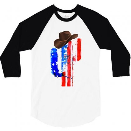 American Cactus 3/4 Sleeve Shirt Designed By Hasret