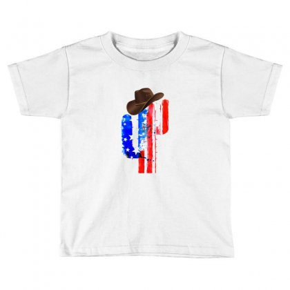 American Cactus Toddler T-shirt Designed By Hasret