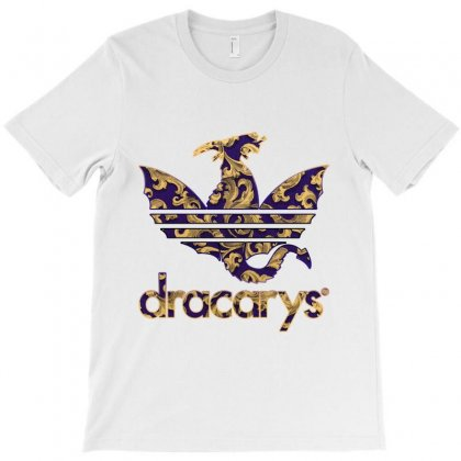 Dracarys Baroque T-shirt Designed By Zeynepu