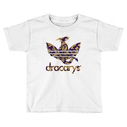 Dracarys Baroque Toddler T-shirt Designed By Zeynepu