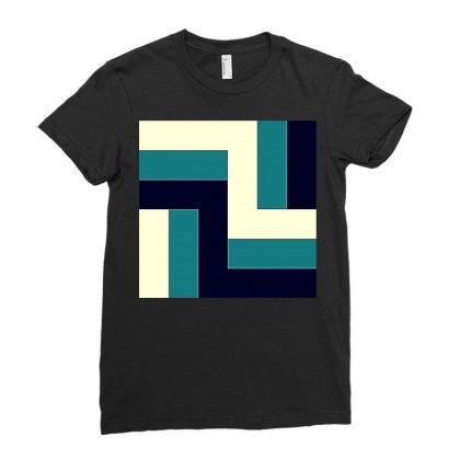 Decorative Pattern Background Ladies Fitted T-shirt Designed By Salmanaz