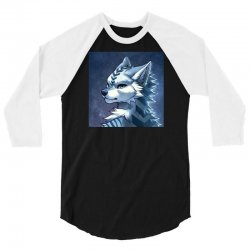 animals and cute Wolves 3/4 Sleeve Shirt | Artistshot