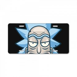 rick and morty merch License Plate | Artistshot