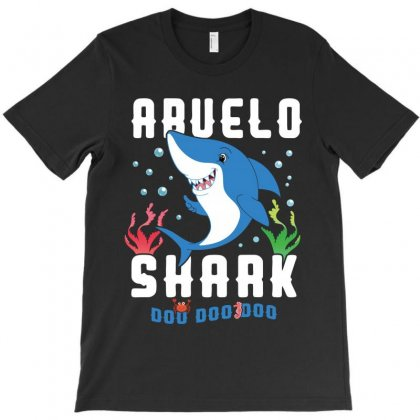 Abuelo Shark Family Matching T-shirt Designed By Artees Artwork