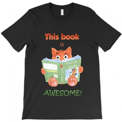 This Book Is Awesome T-shirt Designed By Akin